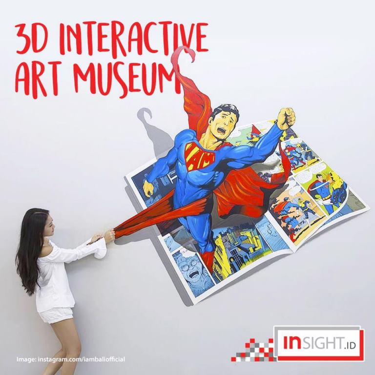 interactive museum bali superman